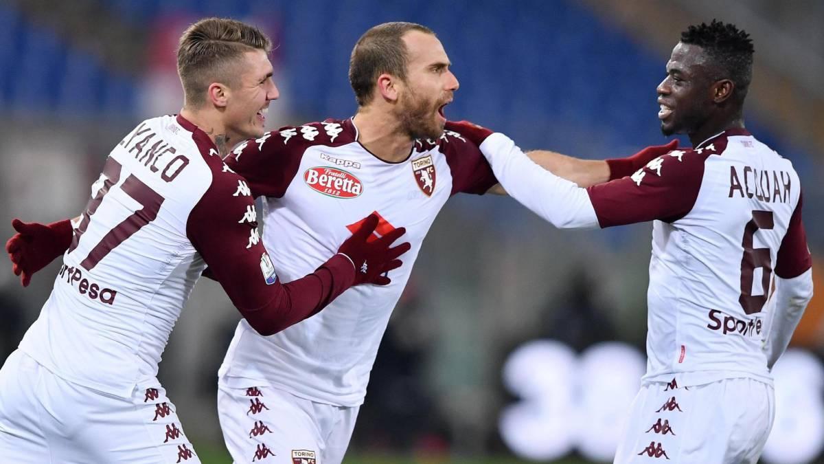 Roma 1 - 2 Torino: Los Giallorossi salen de la Copa de Italia