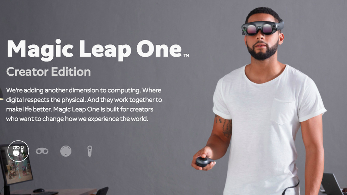 New information released on the Magic Leap Lightwear goggles