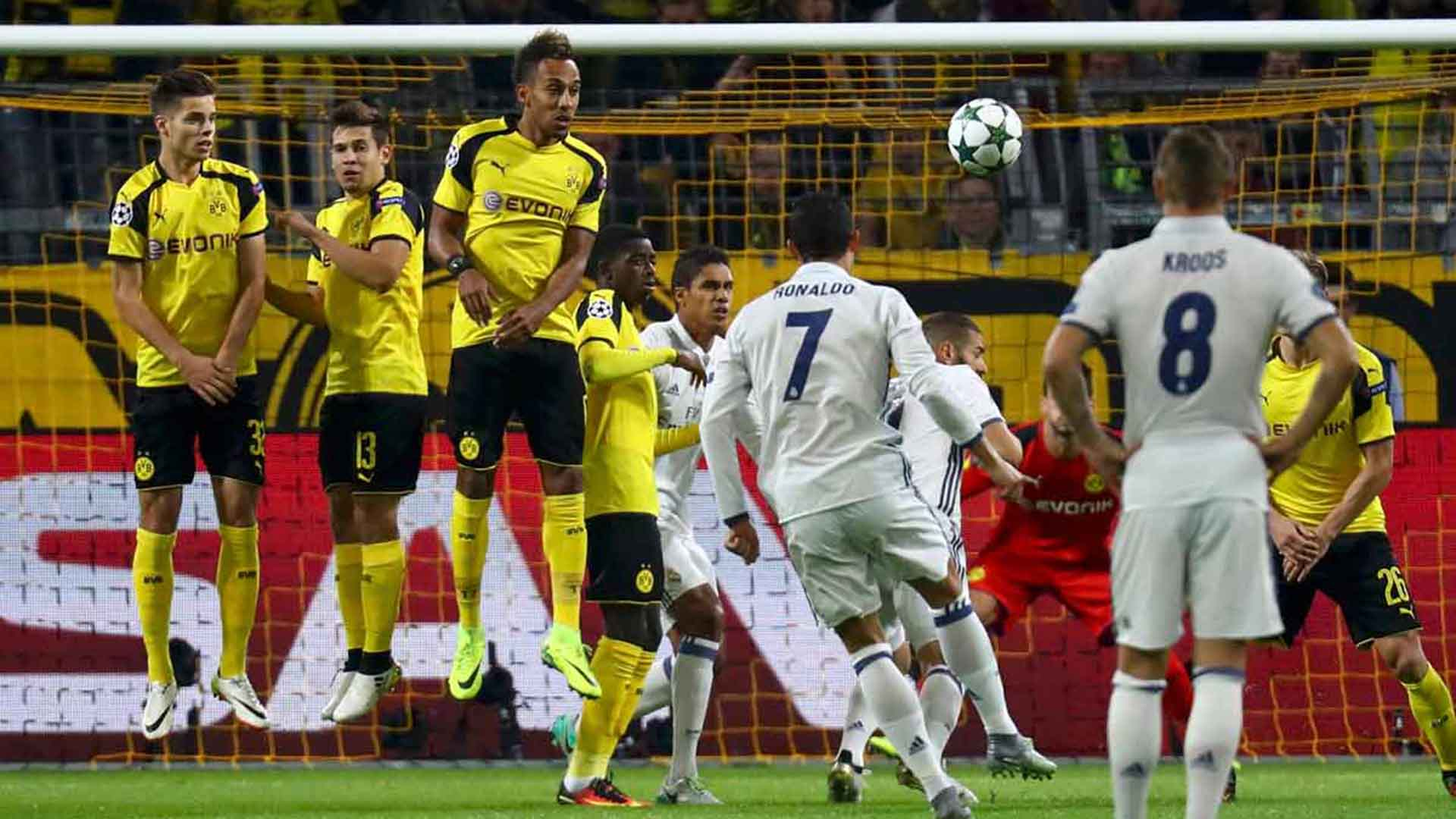 Dortmund pierde ante el Real Madrid y sale de la Champions League (VIDEO)