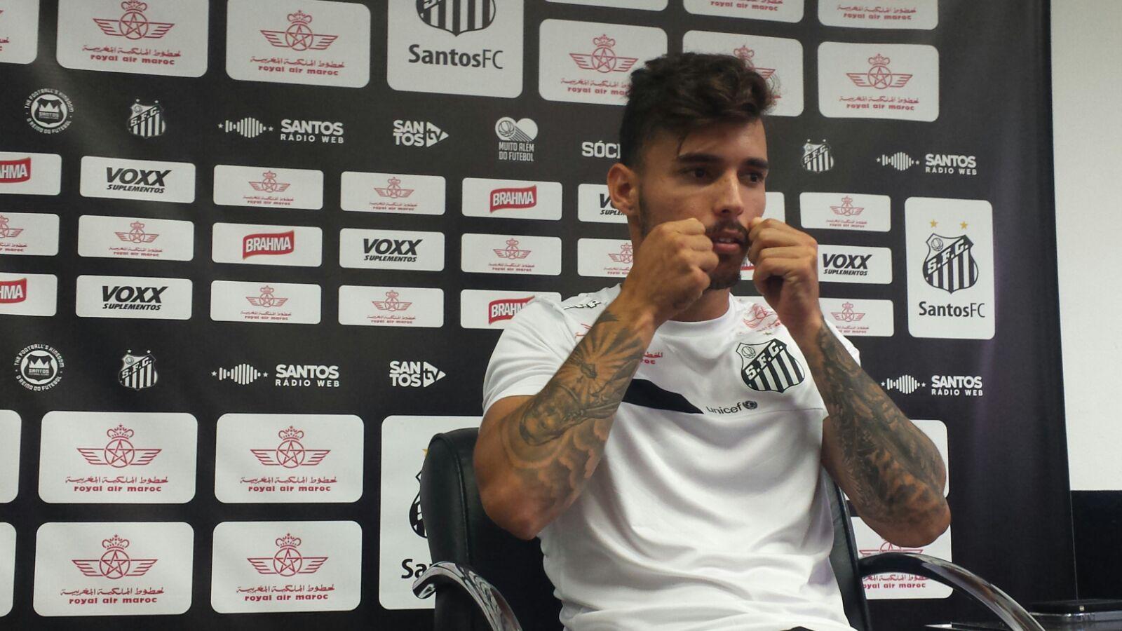 Vídeo: Fla e Santos negociam por Zeca