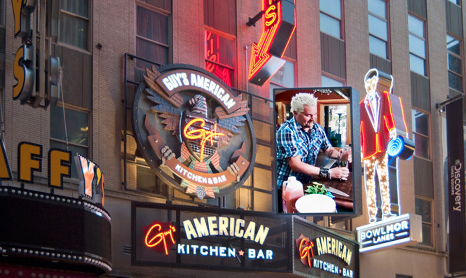 Guy Fieri's Times Square restaurant is set to close on New Year eve