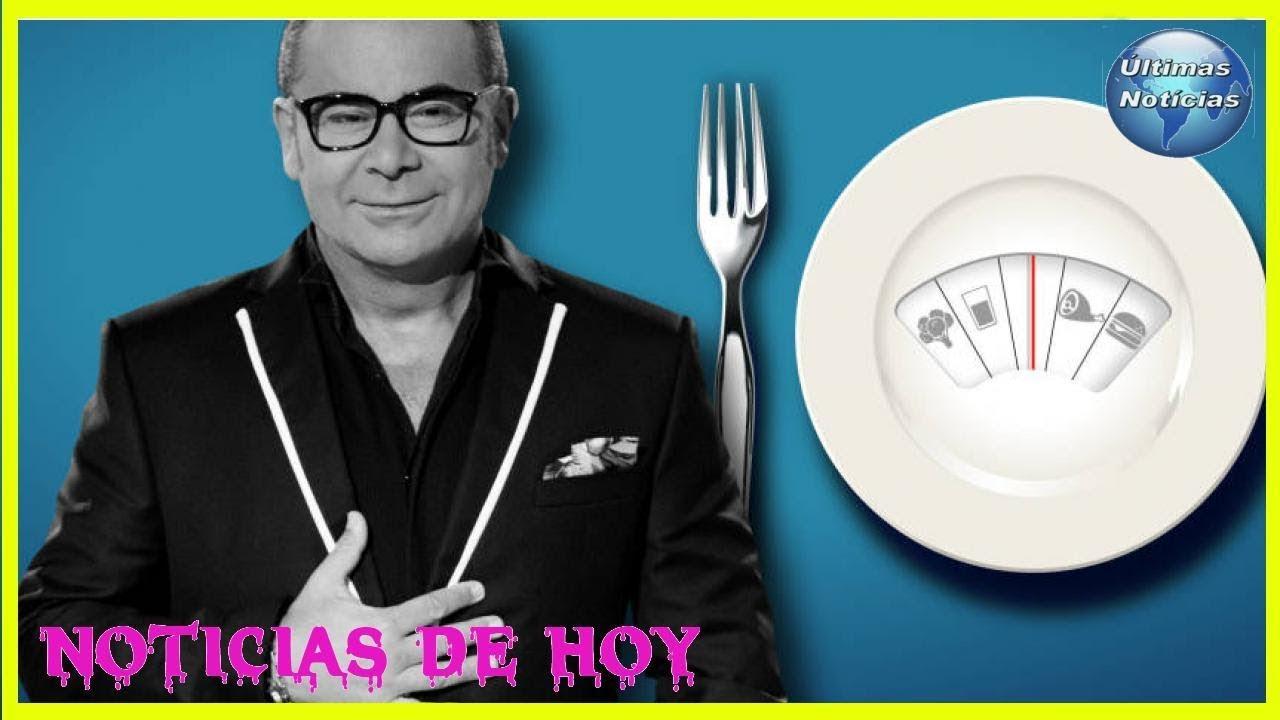 Jorge Javier Vázquez comienza dieta