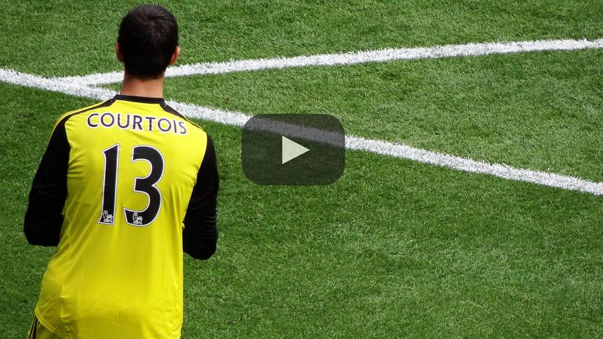 ¡Courtois está cerca de extender su contrato en Stamford Bridge!