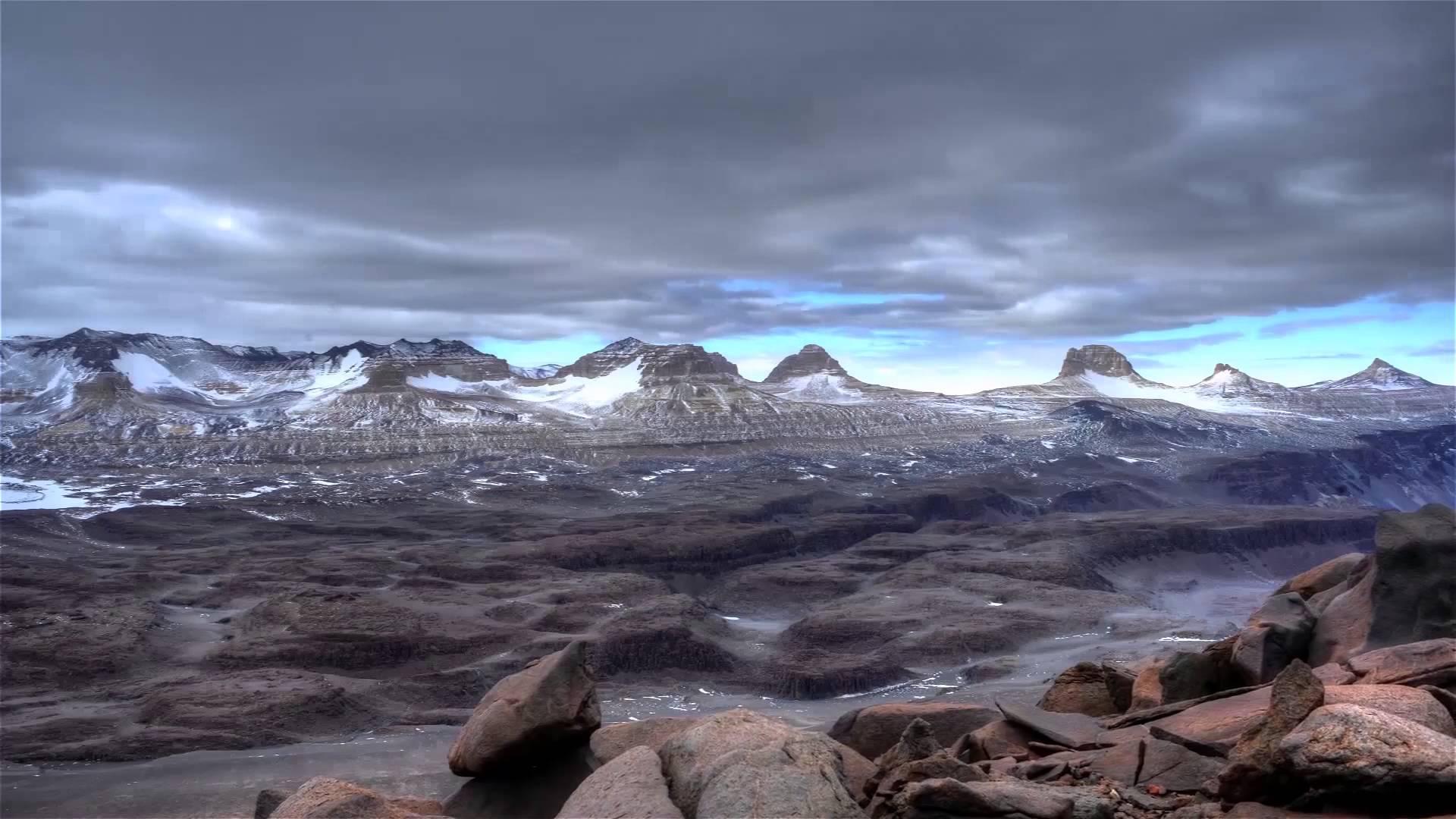 Valles secos de la Antártida, primeros indicios de cambio climático del suelo