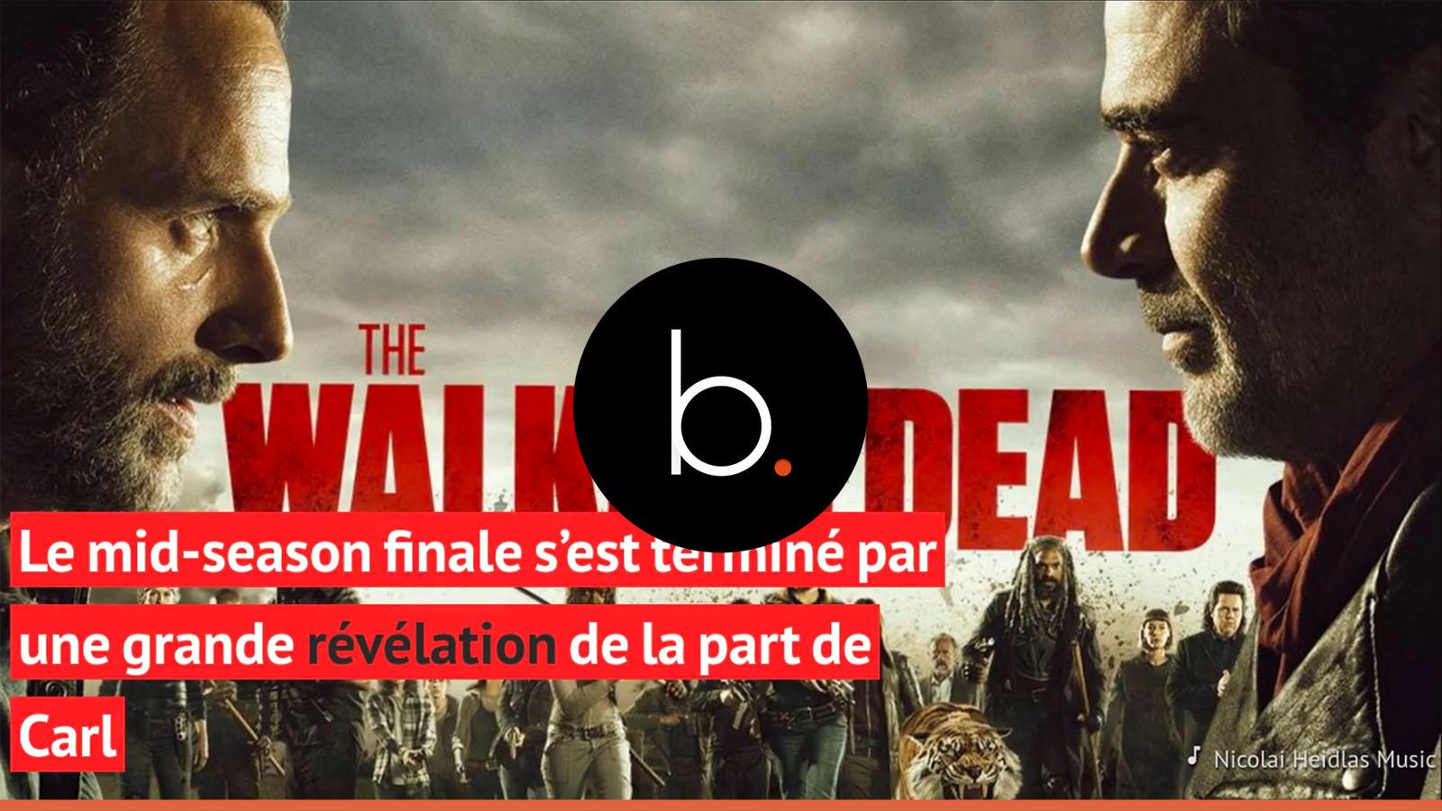 The Walking Dead : Comment va se passer la scène de Carl dans l'épisode 9 ?