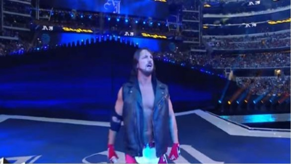 WWE News: Will AJ Styles Royal Rumble match create a stumble?