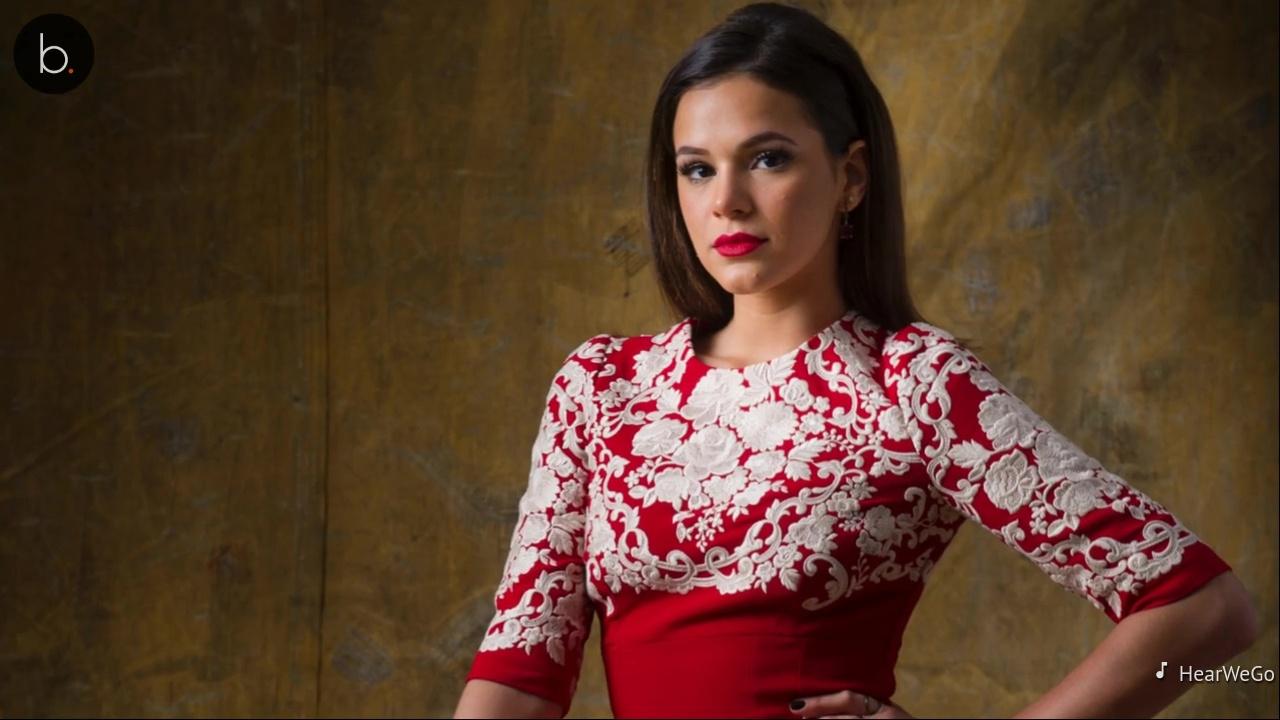 Assista: Neta de atriz ganha carona de Bruna Marquezine em jatinho