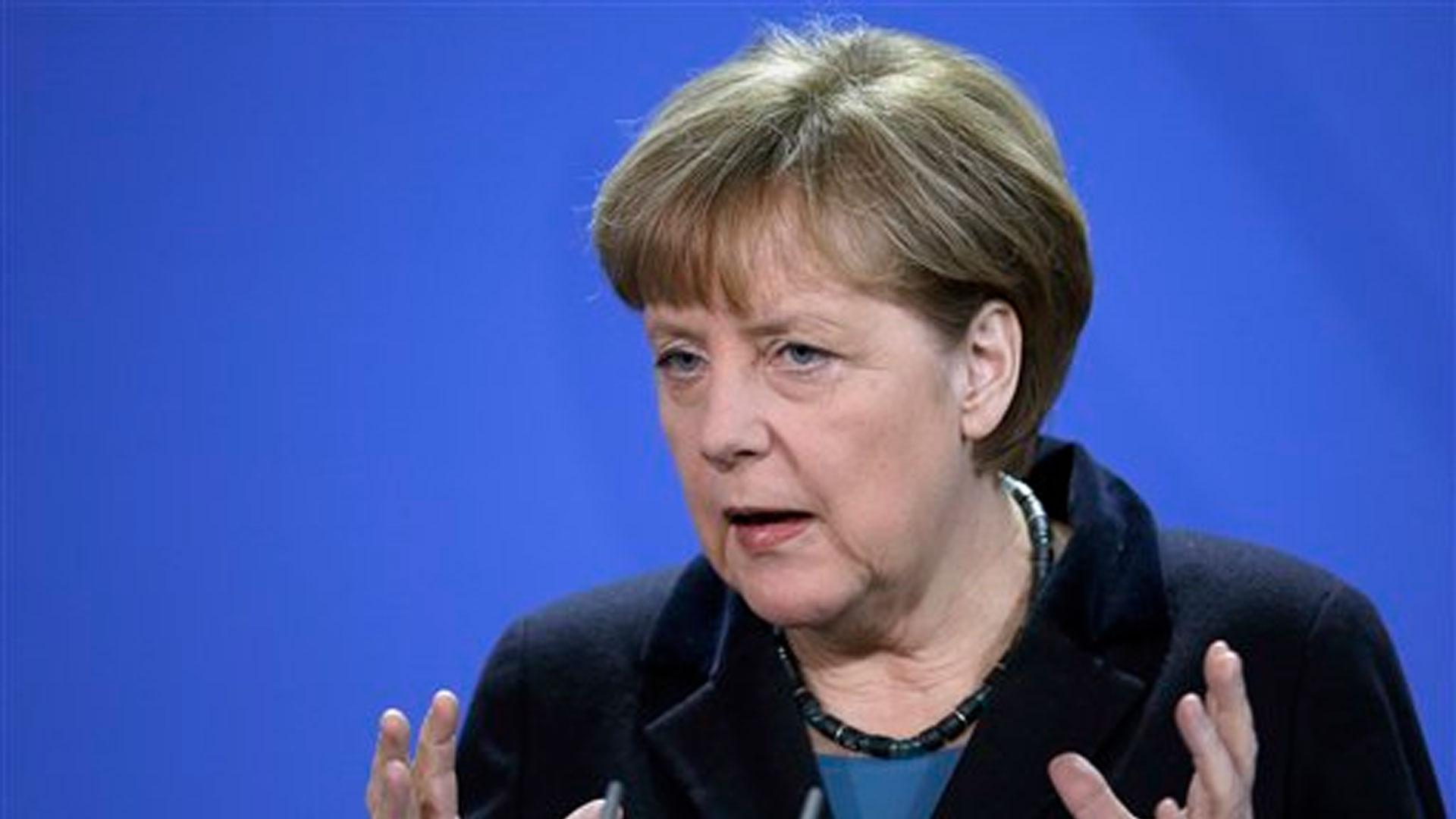 Conversaciones de coalición en Alemania: Merkel da la bienvenida al avance