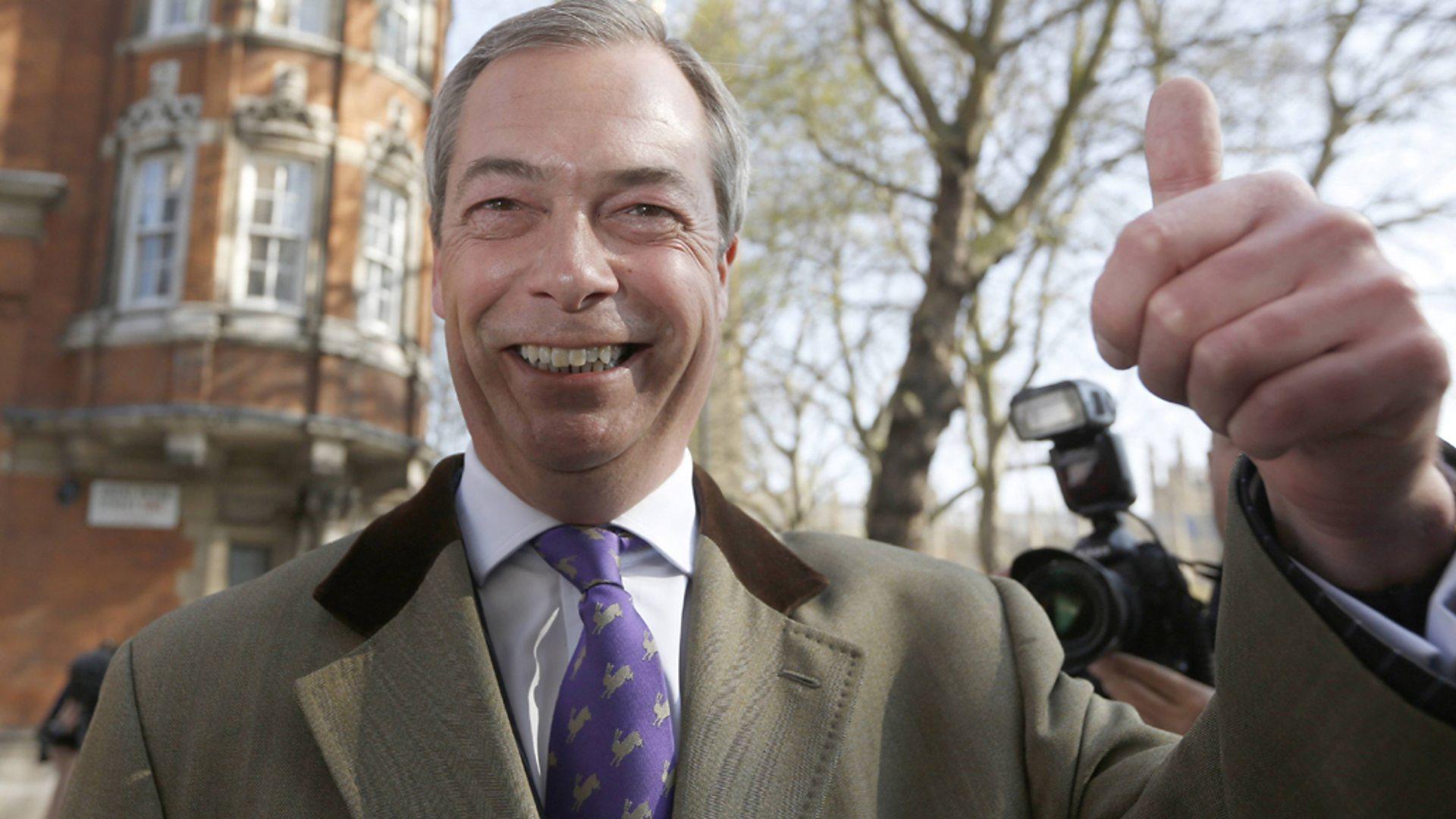 Nuestro histórico voto Brexit ahora podría revertirse, admite Nigel Farage