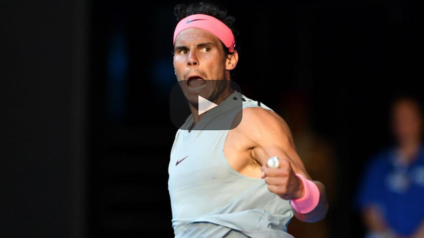 Abierto de Australia: Rafael Nadal vence a Diego Schwartzman