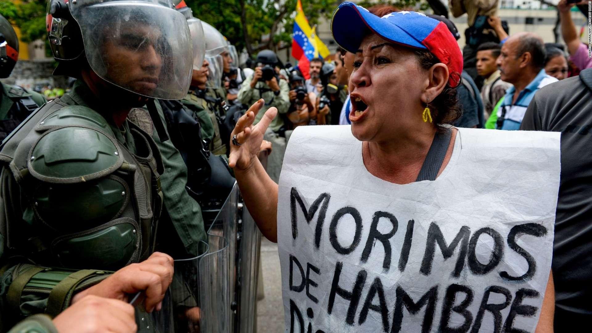 'Saqueamos o morimos de hambre': la escasez de alimentos en Venezuela