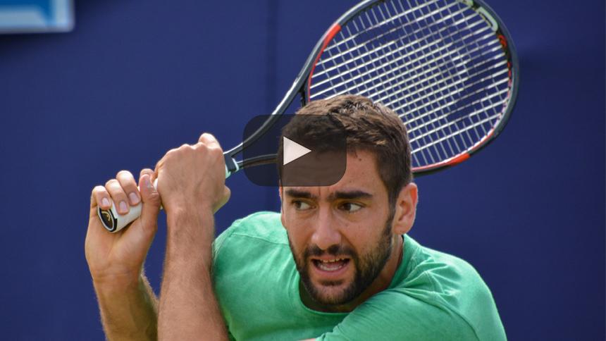Abierto de Australia: Marin Cilic vence a Rafael Nadal para llegar a semifinales