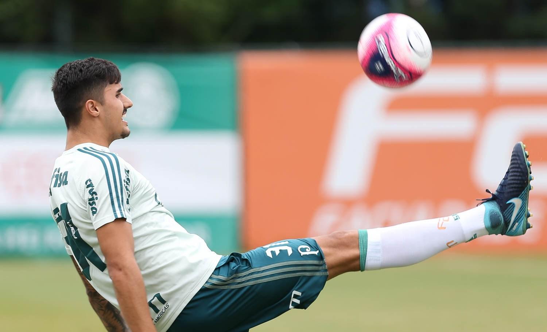 Vídeo: otimismo geral no treino do Palmeiras