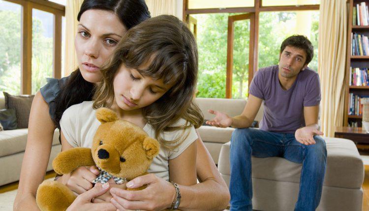 Divorcio dentro de las familias