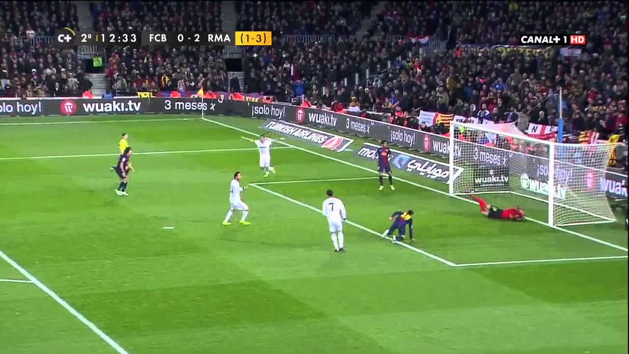 La tensión en el partido del Real Madrid y el Valencia C.F