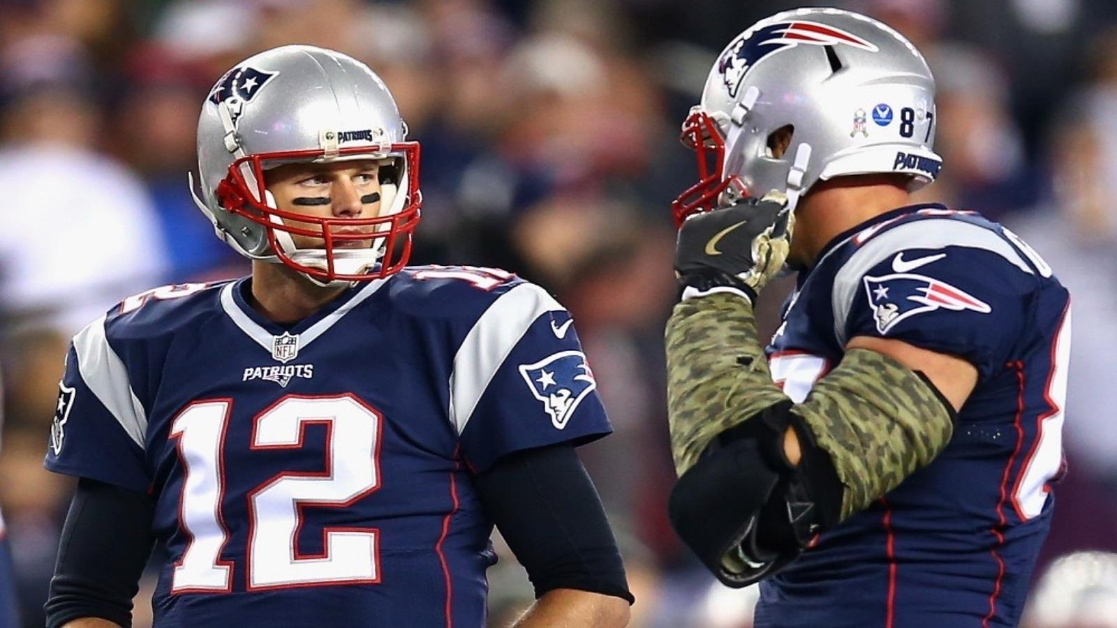 Tom Brady habla sobre el estado de Rob Gronkowski