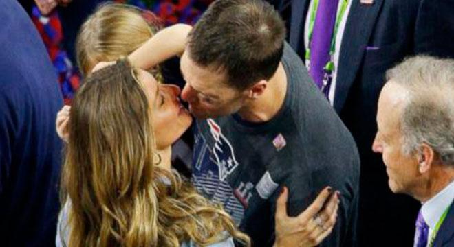 Gisele Bündchen quería retirarlo y ahora Brady jugará su octavo Super Bowl