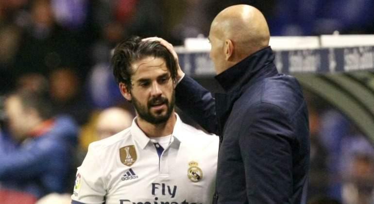 Un jugador del Real Madrid quiere irse si Zidane se queda