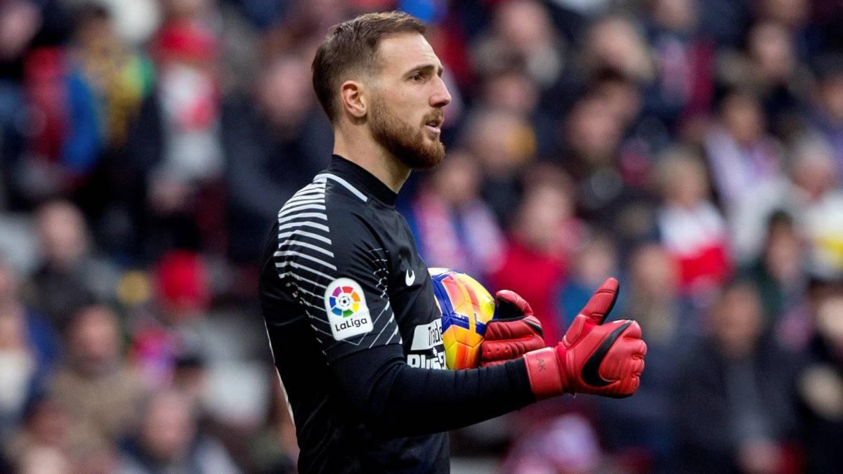 Jan Oblak del Atlético de Madrid se une a 100 clubes en LaLiga