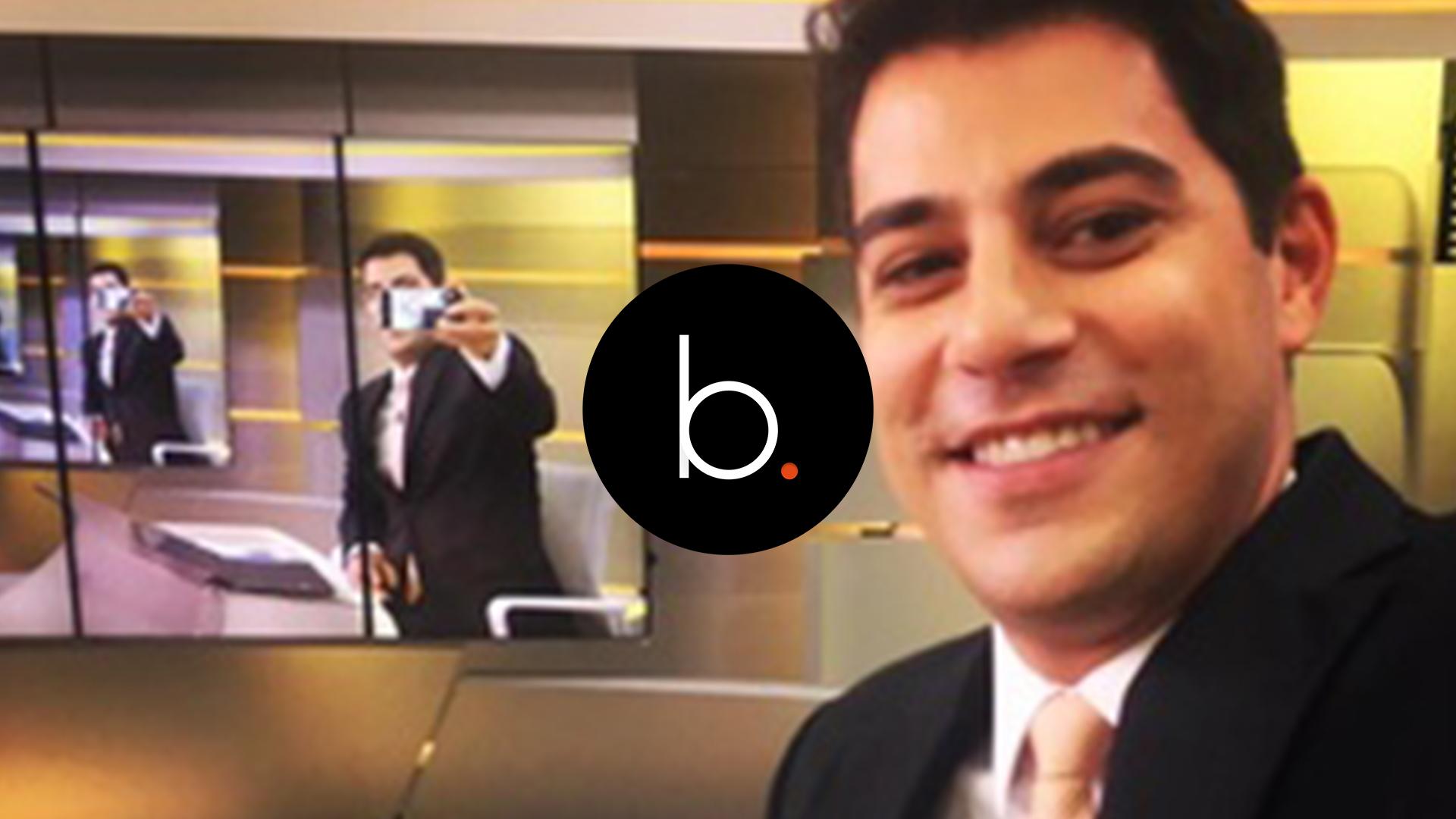 Assista: Pobre? Depois de sair da Globo Evaristo Costa aparece fazendo faxina