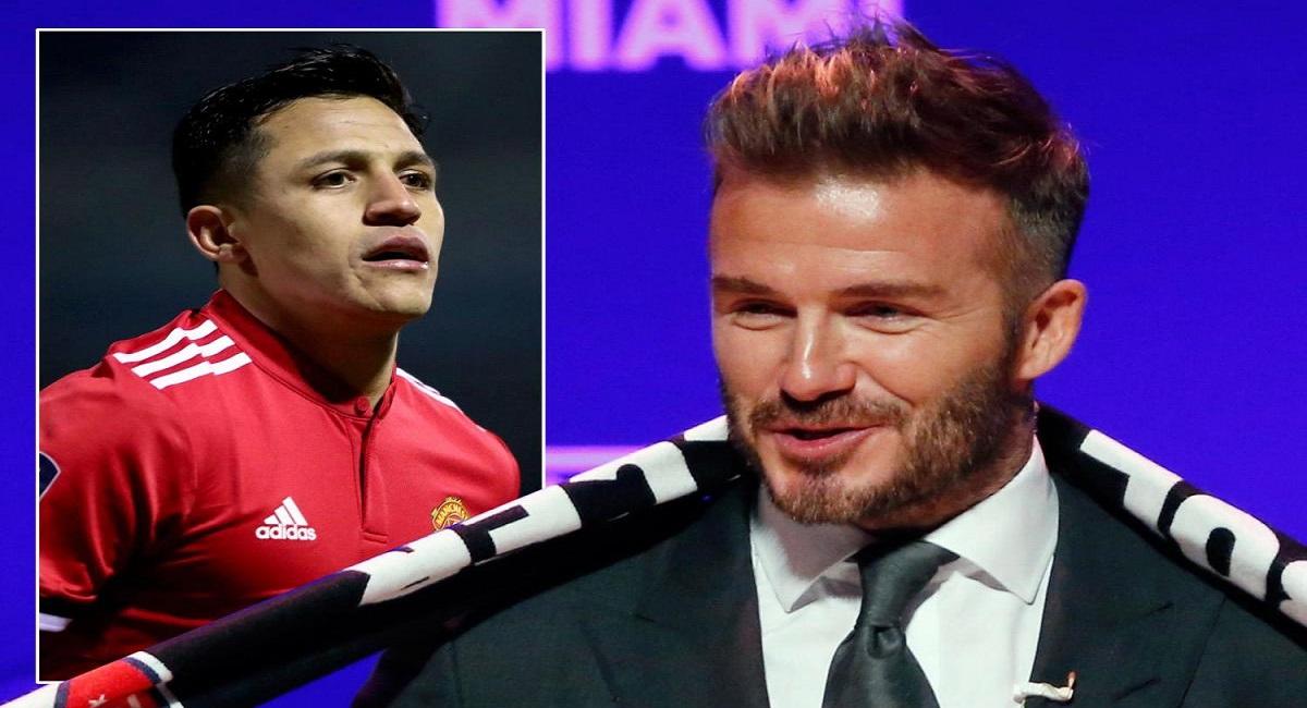 Beckham respalda a Alexis para el éxito después de un movimiento increíble