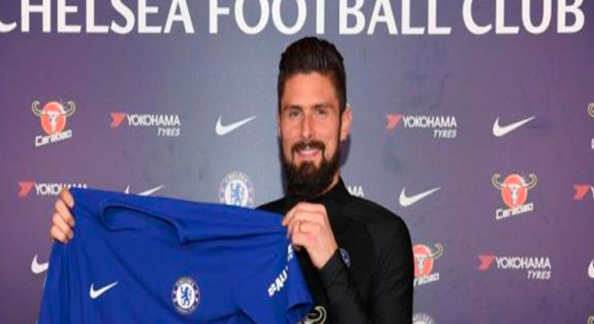 El francés Olivier Giraoud nuevo refuerzo del Chelsea
