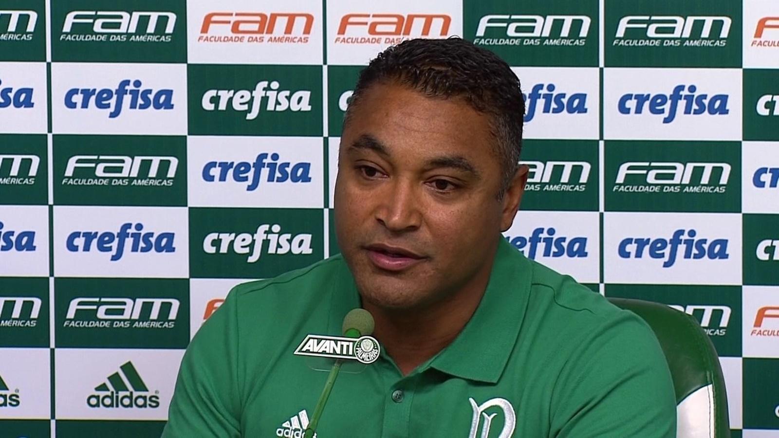 Assista: Antes do clássico, Roger impressiona ao fazer mudança no Palmeiras
