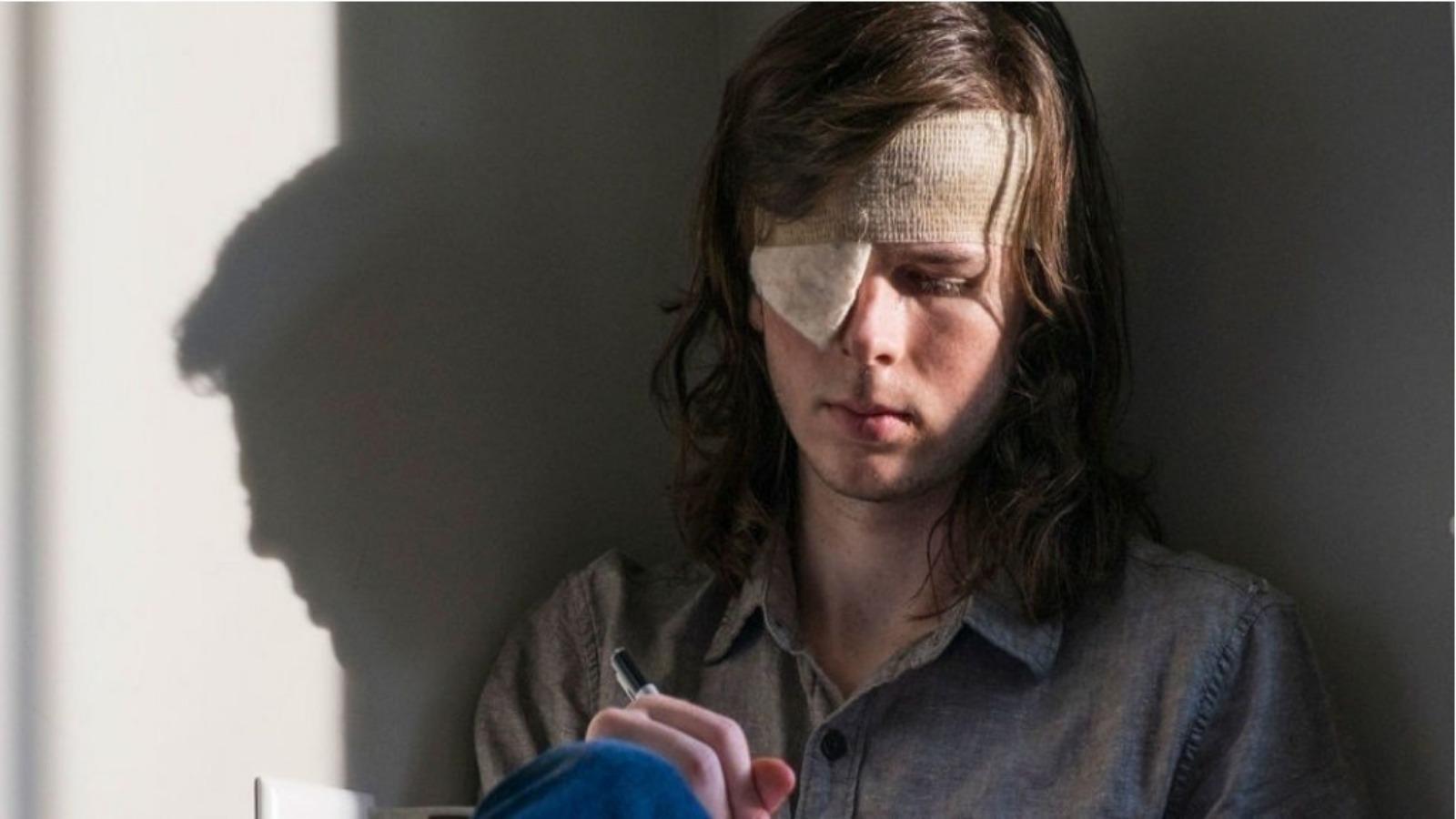 'Walking Dead': últimos momentos de Carl con Rick revelados en un nuevo clip