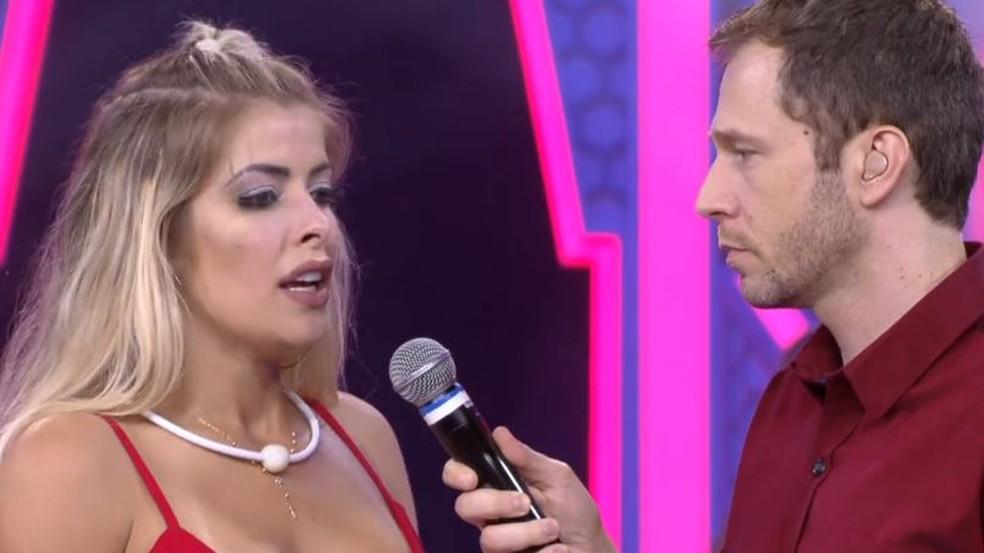 Vídeo: Jaqueline é humilhada antes de sair do BBB