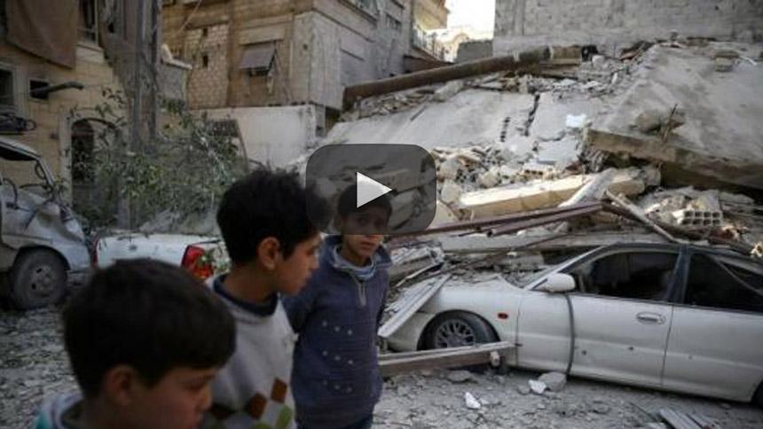 El Ghouta oriental de Siria podría el peor lugar de la Tierra para un niño