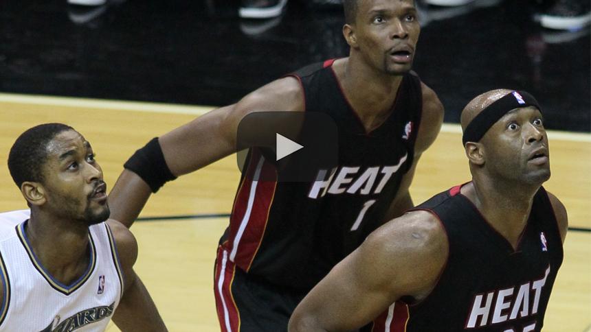 Chris Bosh está listo para hacer su regreso a la NBA