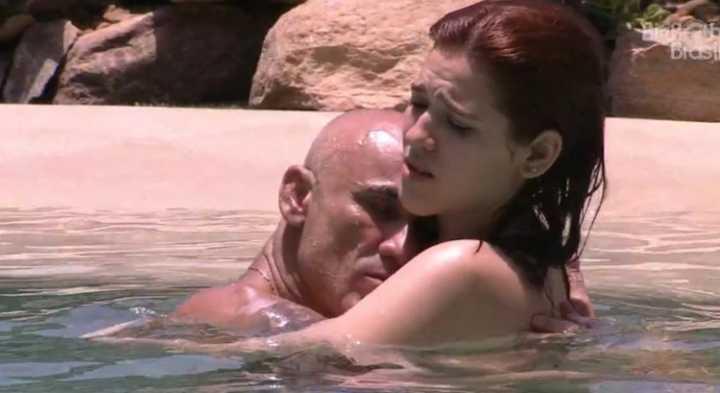 Vídeo: BBB18: Ayrton beija a filha, implora por amor e causa revolta no Twitter.
