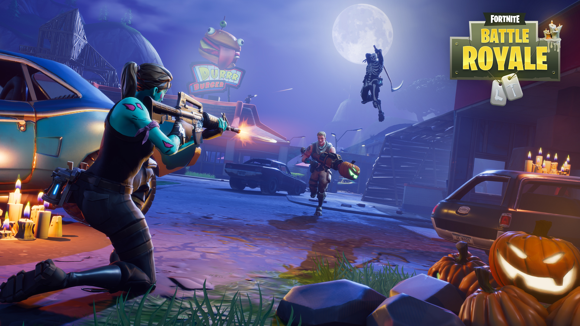 'Fortnite: Battle Royale' Season 3: Skydiving Trails with Iron Man like effect