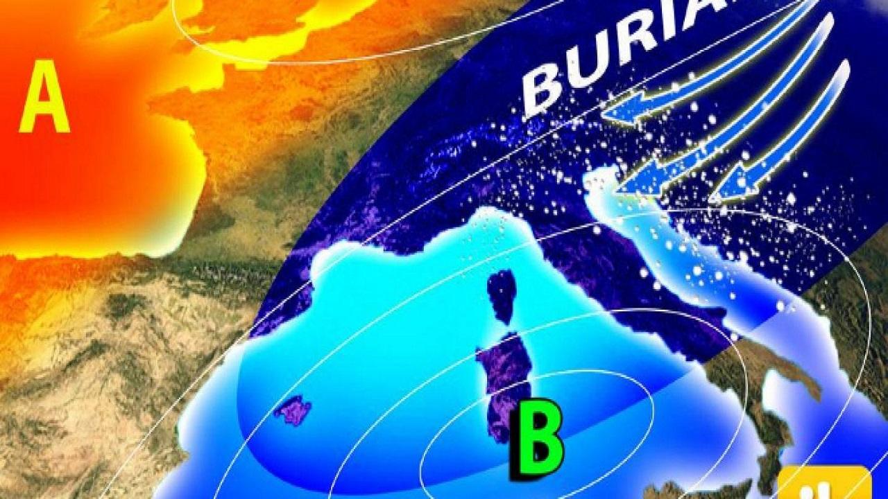 Video: Allarme meteo in Italia, neve e Burian protagonisti