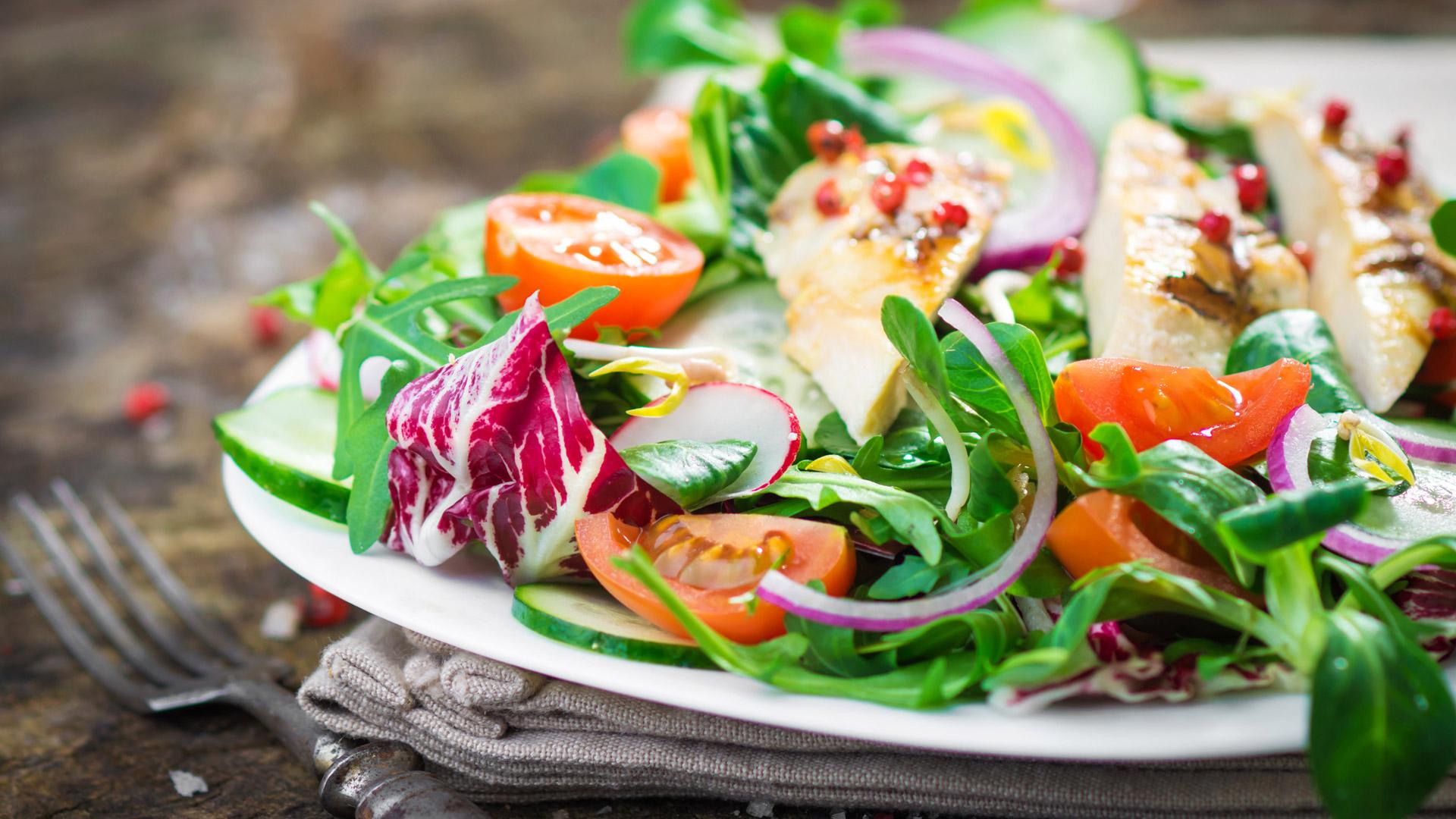 Pasos para tener una alimentación rica y saludable