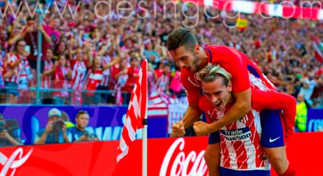 El Atlético de Madrid se dio un festín con el Sevilla