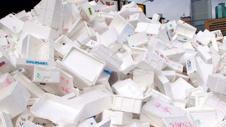 ¡El reciclaje de unicel se esta volviendo importante!