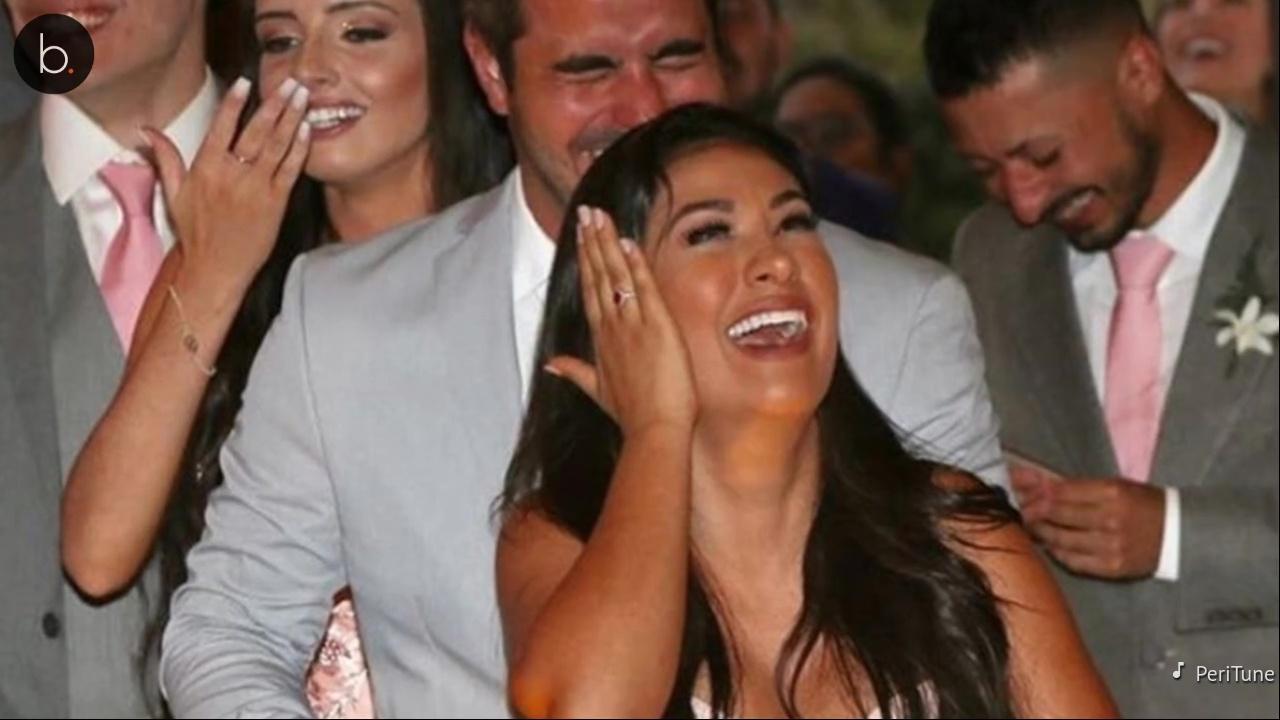 Simone arrasa em look ao lado do marido, no casamento de Windersson Nunes