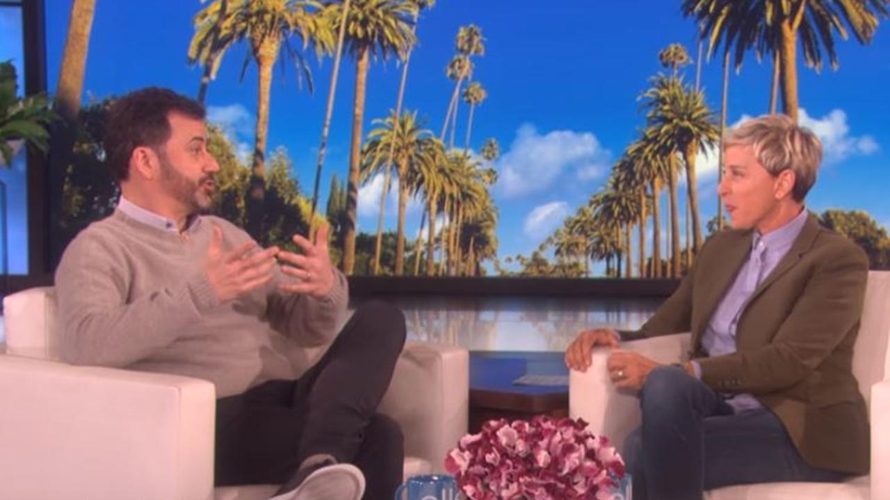 Ellen DeGeneres leave her friend Jimmy Kimmel misty-eyed with her gift