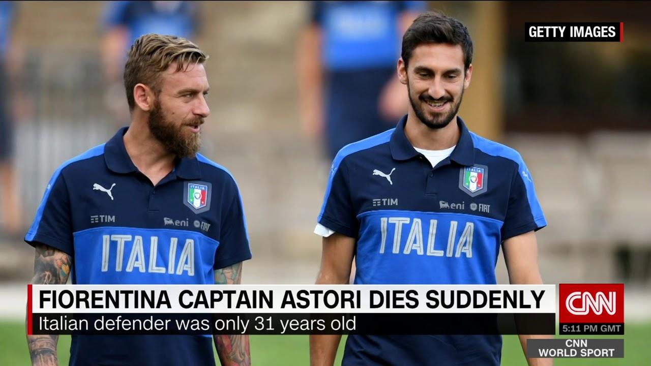 Fiorentina mourns the loss of Davide Astori