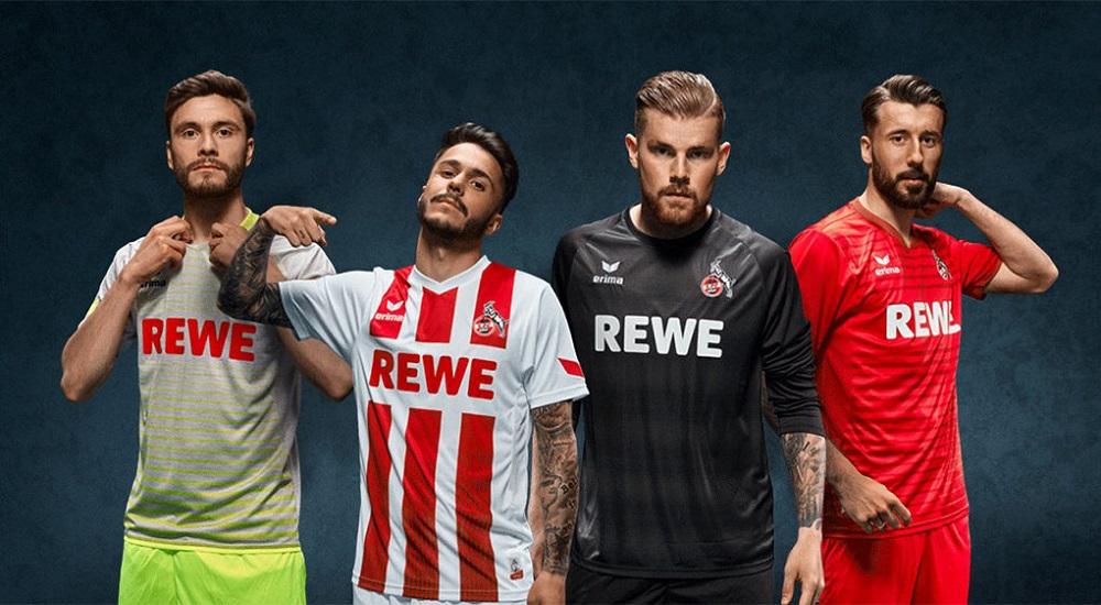 7 camisetas diferentes para FC Cologne en lo que va de temporada