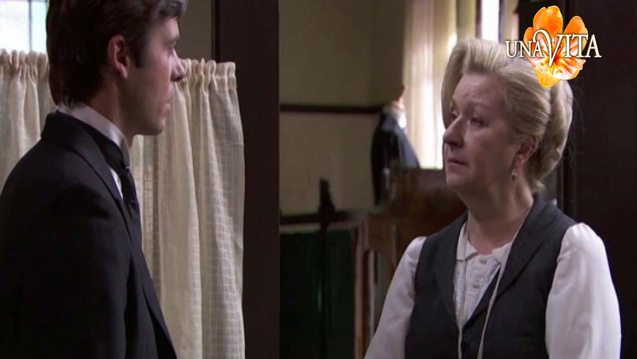 Una Vita: Simon viene rinnegato da Donna Susanna