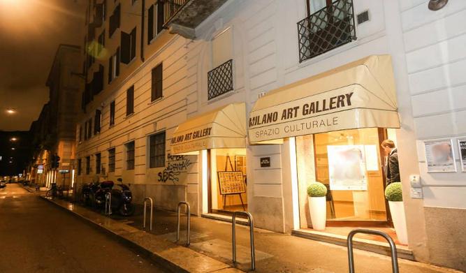 Silvana Giacobini e Vanna Ugolini per l'arte delle donne alla Milano Art Gallery