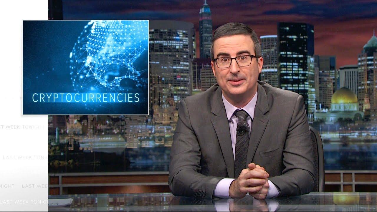 'Last Week Tonight' tackles cryptocurrencies