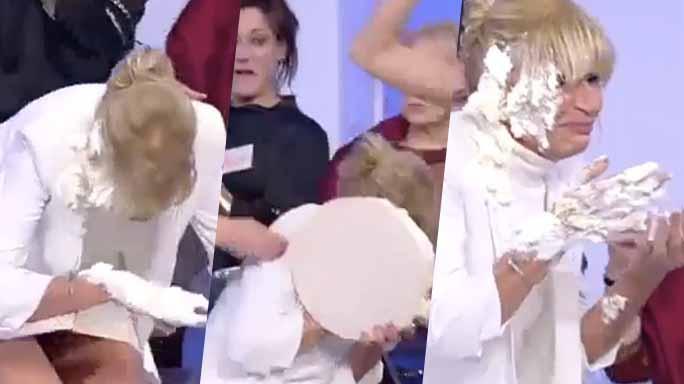 Gossip U&D, Gemma prende una torta in faccia: ecco il filmato shock