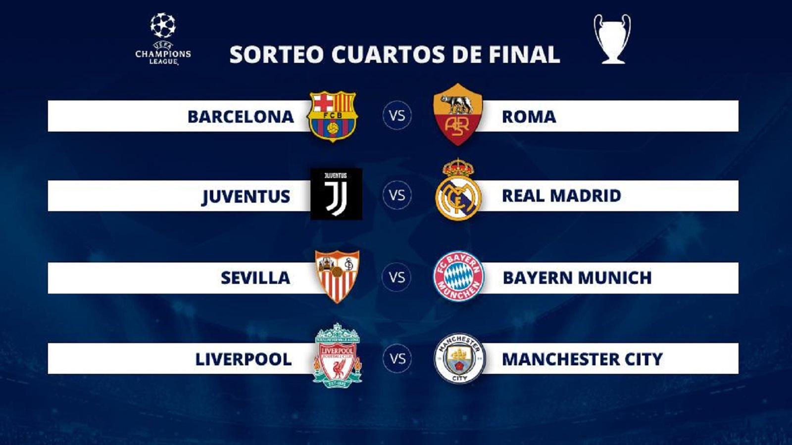VÍDEO: La suerte tambien juega en los cuartos de la Champions!