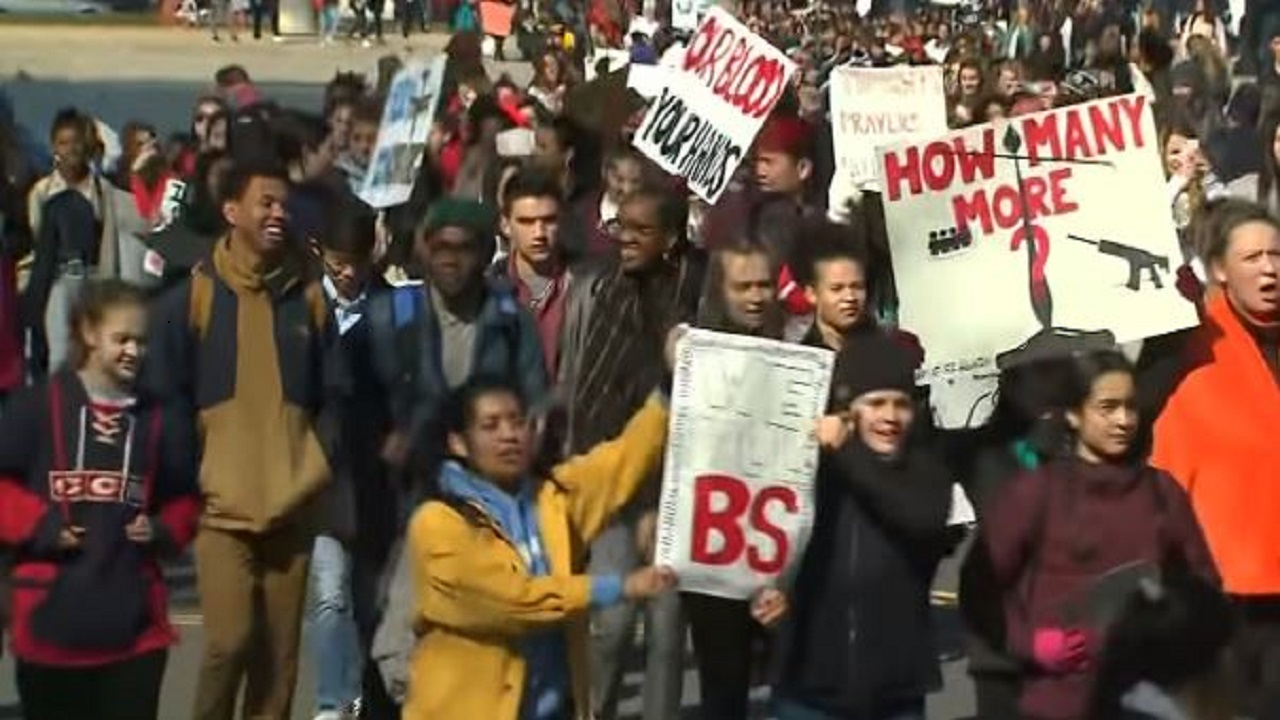 U.S. students and teachers launch grassroots protests over a variety of issues