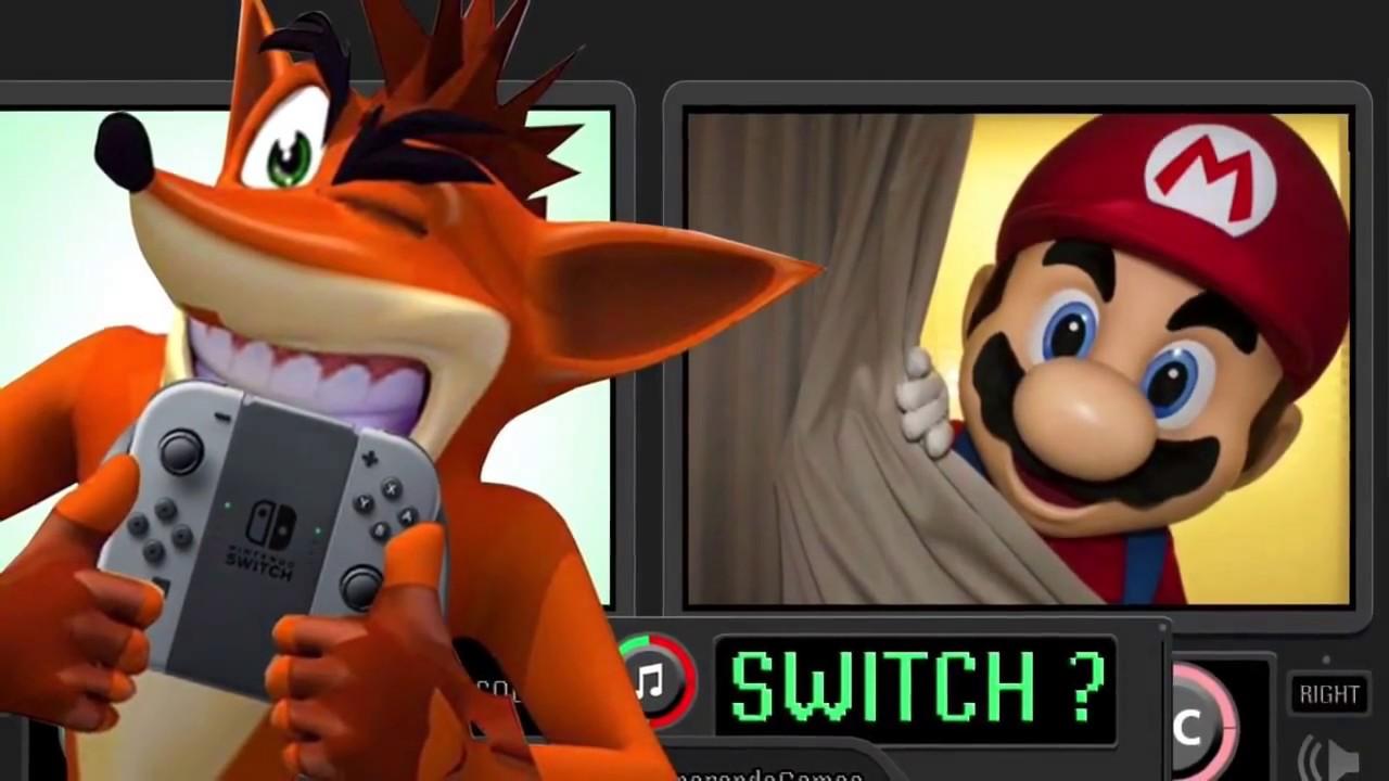 'Crash Bandicoot N. Sane Triology' coming to Nintendo Switch