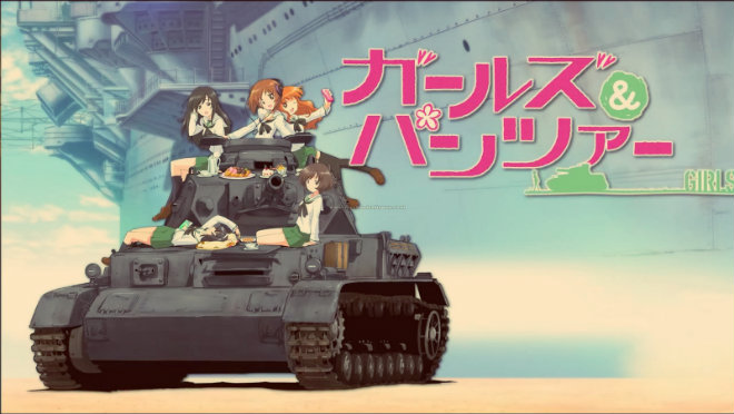 """""""Girls und Panzer (TV)"""" un buen anime"""