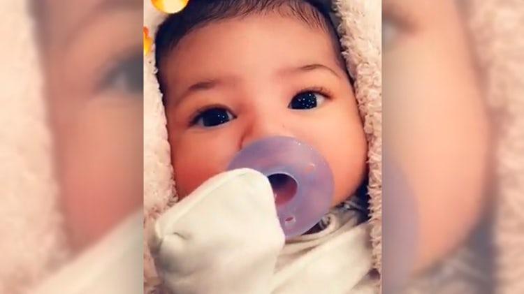 La selfie más buscada: Kylie Jenner y su bebé